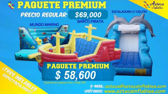 Promoci n de inflables novedosos y originales azteca for Precio de piletas inflables
