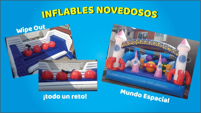 inflables nuevos