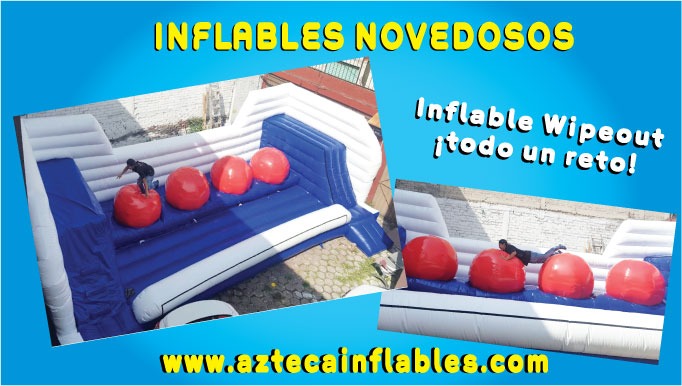 inflable wipeout