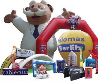 inflables para publicidad